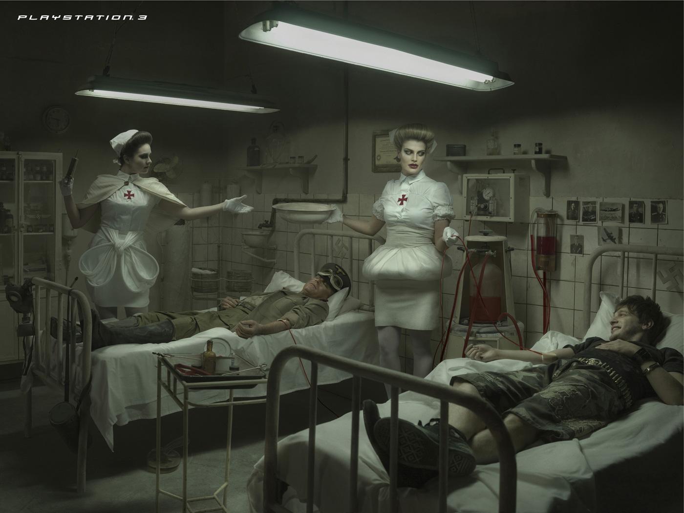 Sony nazi ad.