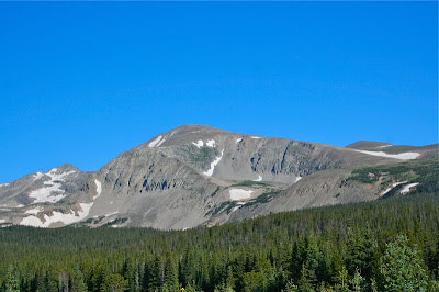 Mt. Audubon (13,233 ft) in the Indian Peaks Wilderness is a tough climb similar to an easy 14er.