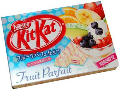 WTF Japan 008+-+Fruit+Parfait+Kit+Kat+(Japan)