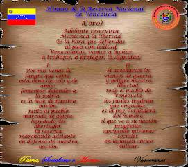 Himno de la Reserva Nacional de Venezuela