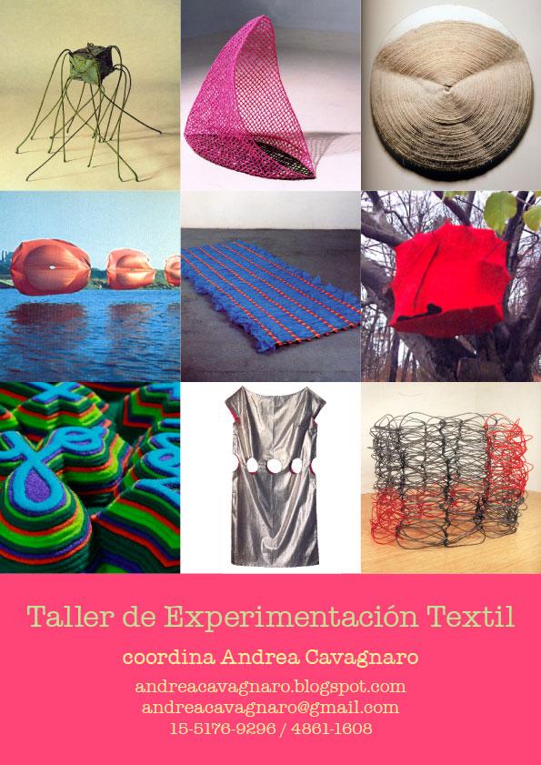 Taller de Experimentación Textil: Taller de Experimentación Textil ...