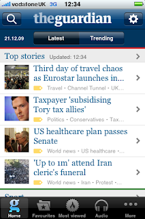 Guardian iPhone App