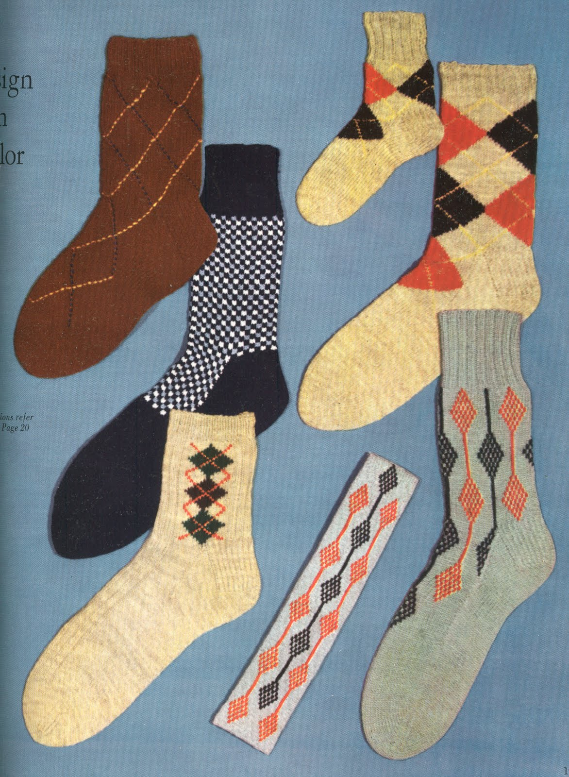 Vintage Bulletin, the Vintage Clothing blog: Every Man Needs a Sock ...