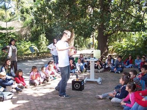 Depuradoras y tratamientos del agua participaci n en los for Talleres jardin botanico
