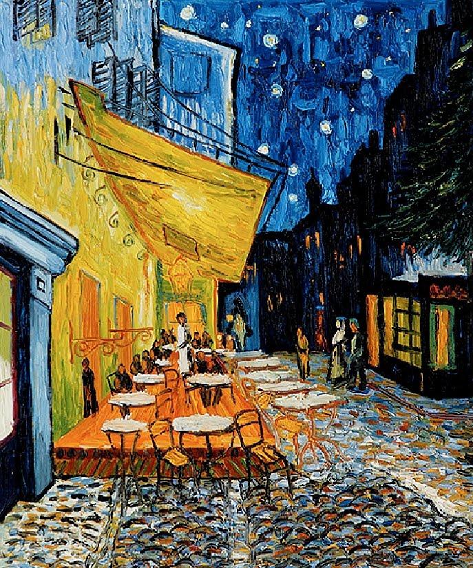 Van Gogh Cafe Terrace at Night Wallpaper Van Gogh Cafe Terrace at Night