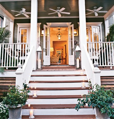 The newlywed diaries pretty new orleans cottage for French doors back porch
