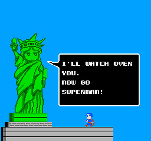 Superman NES