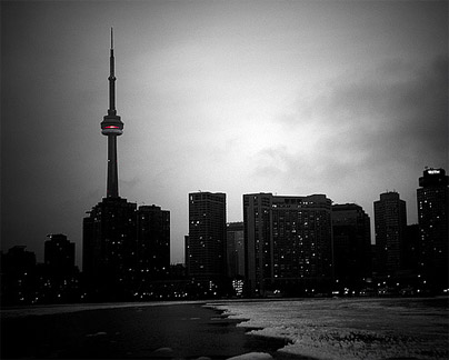 The CN Tower is a Cylon