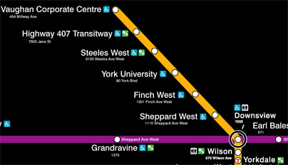TTC University Spadina Extension