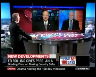 CNN Wolf Blitzer Obama Hundred Days Report Card