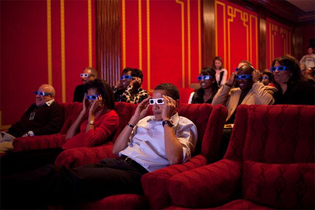 Obama 3D Glases