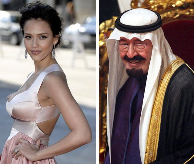 Jessica Alba Saudi Arabia