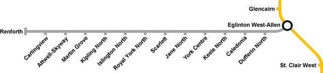 TTC Eglinton West Subway
