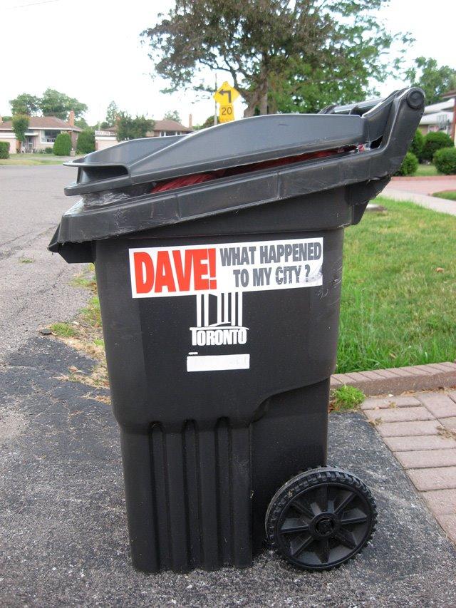 Toronto Garbage Bin Strike