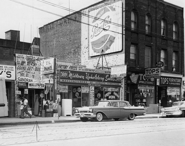 Toronto Then and Now Queen Street West