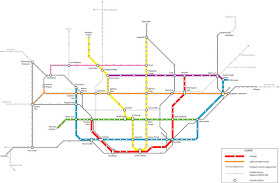Future Transit Map TTC