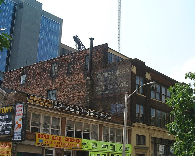 Toronto Ghost Signs Reliance Engravers
