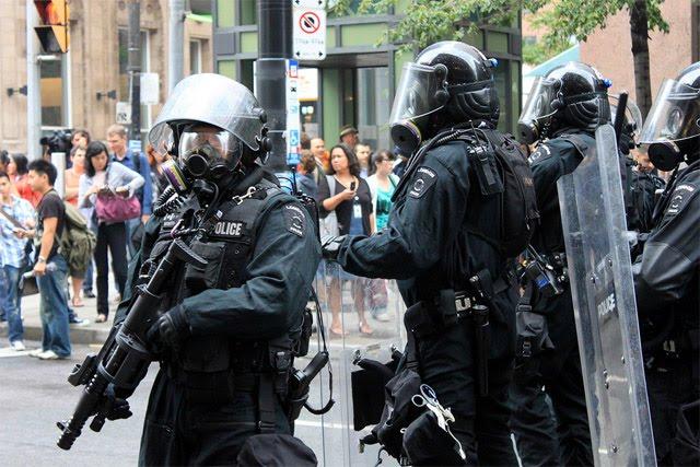G20 Toronto Riot Police