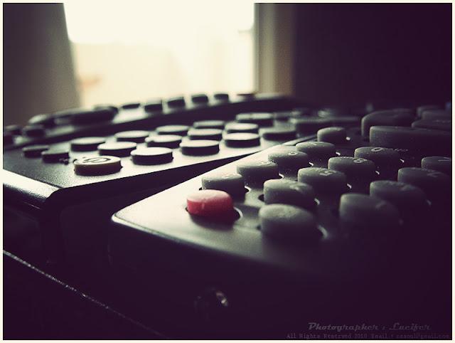 Photograph TV remote control