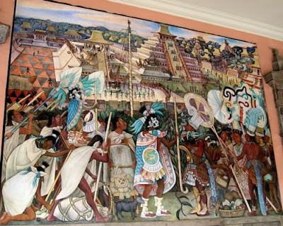 Breiner on the road exploring the history of mexico city for Diego rivera tenochtitlan mural
