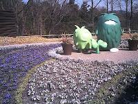 モリコロと春花壇