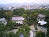 犬山城天守閣からの眺め(南側)