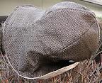 大島紬の帽子