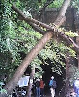 旧愛岐トンネル群の1つ