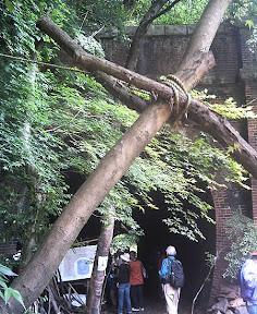 旧・愛岐トンネル群の1つ