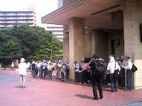 名古屋市公会堂前からスタート