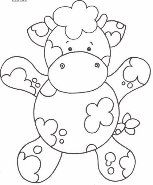 Vaca en Goma Eva