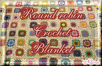 Round robin colcha afgana