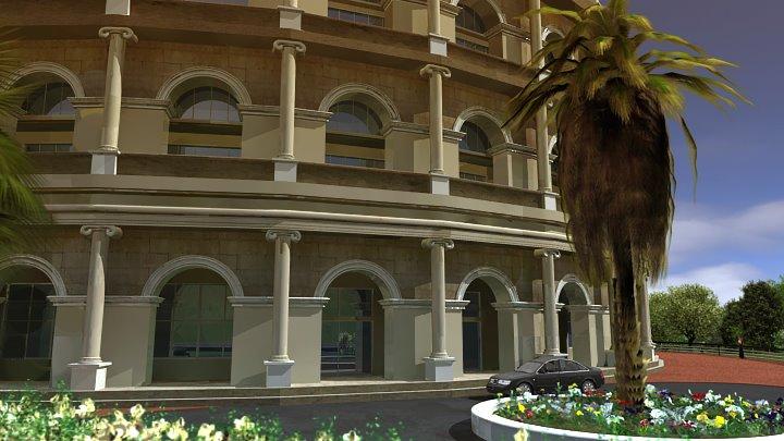 3D model - hotel Colloseum