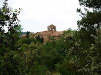 Sant Pau de Casserres des de el Serrat dels Moros