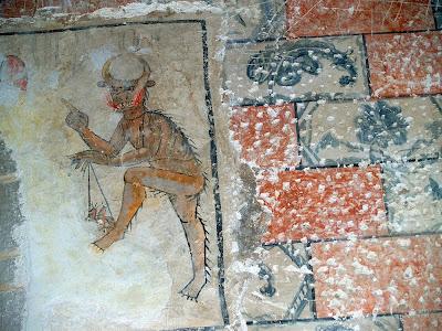 Pintura mural  de Sant Pau de Casserres