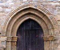 Portal gòtic de Santa Maria de Tagamanent