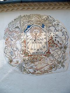 Rellotge de sol del Mas Blanc
