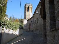 Carrer Major de Sant Quirze