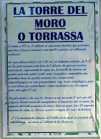 Cartell informatiu de la Torre del Moro