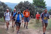 Caminada de Cal Marçal 2010. Fotografia: Carlos Albacete