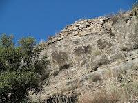 Restes de murs de l'antic Castell