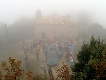 Sant Martí Xic des de la pujada al Castell de Voltregà