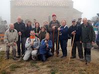 El grup a Sant Martí Xic. Autor: Carlos Albacete