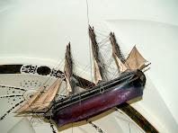 Vaixell exvot al Santuari del Vilar