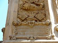 Medalló de Sant Pere amb els versos de Dolors Monserdà