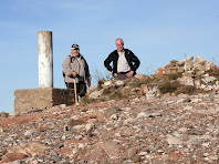 Vèrtex geodèsic al Turó de la Pola. Autor: Carlos Albacete