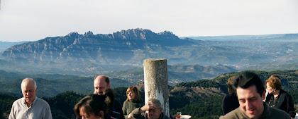 Amb Montserrat al fons