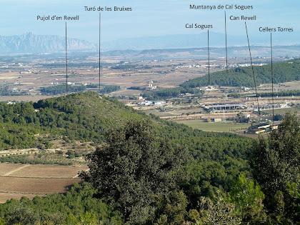 Vista des del Coll de la Font de Maiol