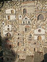 Representació de les ermites de la comarca
