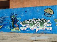 Grafit al I.E.S. Miquel Martí i Pol